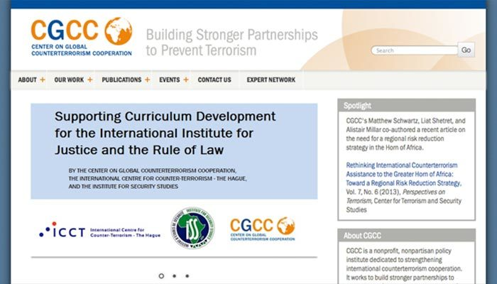 Center on Global Counterterrorism Cooperation