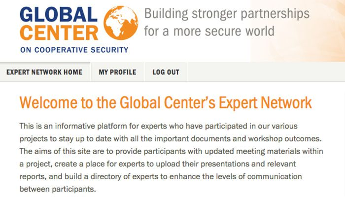 Global Center Expert Network