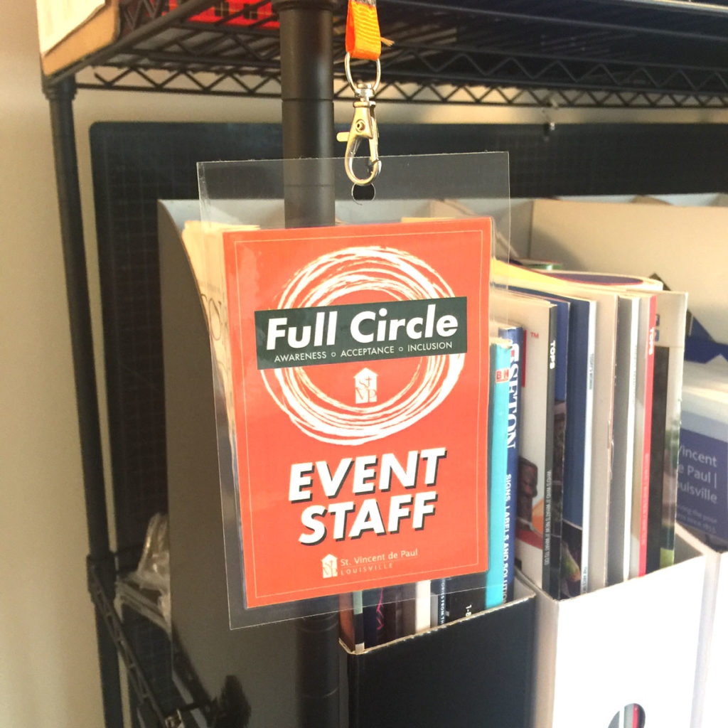 Full Circle Event Staff Badge
